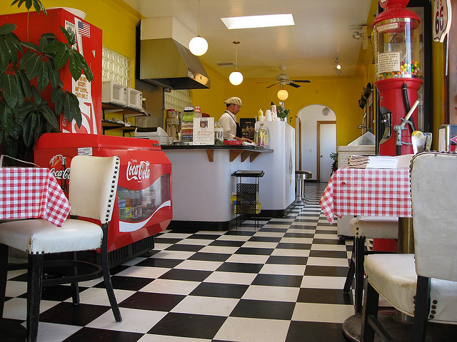 The Route 66 Malt Shop in Nob Hill has become a flashpoint for both supporters and detractors of Albuquerque's new minimum wage. Photo Credit: soupstance via CC Search cc