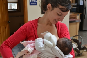 Jessica Ventura-Ewing was the first mom to donate her milk through the Dar a Luz depot. Photo by Elise Kaplan