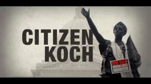 """Screenshot from """"Citizen Koch."""""""