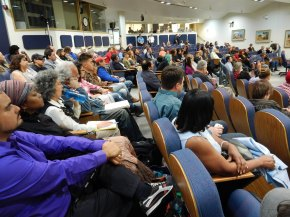 Hundreds Pack Council Meeting to Speak Out on APD Shootings