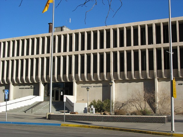The Albuquerque Police Department shares headquarters with the Bernalillo County Sheriff's Office across from City Hall. Photo Credit: teofila via Compfight cc